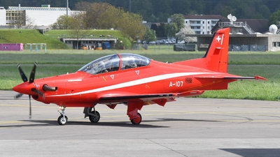 A-107 - Pilatus PC-21 - Switzerland - Air Force