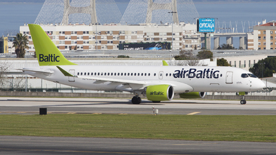 YL-CSM - Airbus A220-300 - Air Baltic