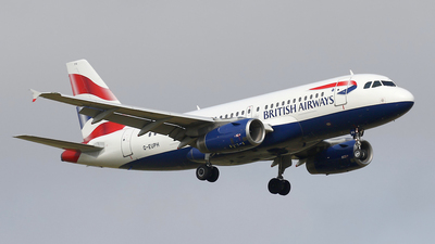 A picture of GEUPH - Airbus A319131 - British Airways - © Nigel Fenwick