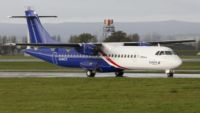 G-IACY - ATR 72-212A(600) - Eastern Airways