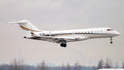 OE-IRN - Bombardier BD-700-1A10 Global Express - International Jet Management