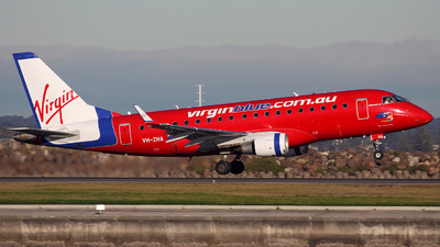 VH-ZHA - Embraer 170-100LR - Virgin Blue Airlines