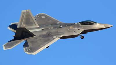 09-4186 - Lockheed Martin F-22A Raptor - United States - US Air Force (USAF)