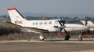 N71HE - Cessna 425 Conquest I - Private