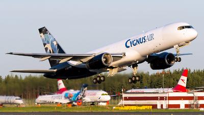 A picture of ECFTR - Boeing 757256(PCF) - Cygnus Air - © Jevgeni Ivanov