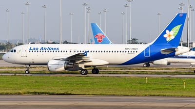 RDPL-34224 - Airbus A320-214 - Lao Airlines