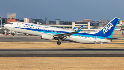 JA88AN - Boeing 737-8AL - All Nippon Airways (ANA)