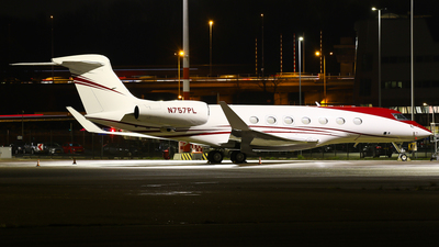 N757PL - Gulfstream G650ER - Private