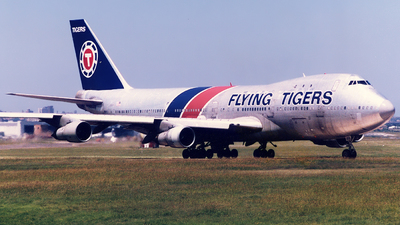 N819FT - Boeing 747-121(SF) - Flying Tigers