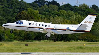 A picture of N24QA - Cessna 560 Citation Encore+ - [5600762] - © Agustin Anaya