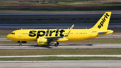 A picture of N904NK - Airbus A320271N - Spirit Airlines - © Rocky Wang