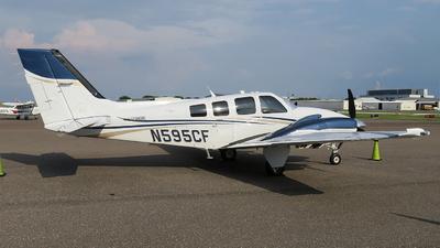 N595CF - Beechcraft G58 Baron - Private