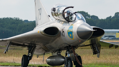 SE-DXP - Saab Sk35C Draken - Swedish Airforce Historic Flight