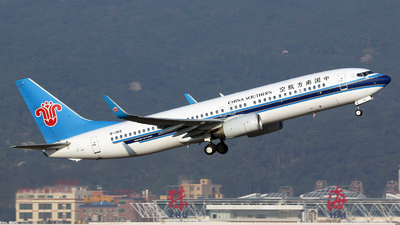 B-1919 - Boeing 737-81B - China Southern Airlines