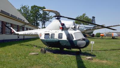 DDR-VGI - PZL-Swidnik Mi-2 Hoplite - German Democratic Republic - Volkspolizei