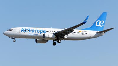 EC-MPG - Boeing 737-85P - Air Europa Express
