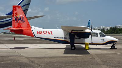 N863VL - Britten-Norman BN-2A-26 Islander - Vieques Air Link