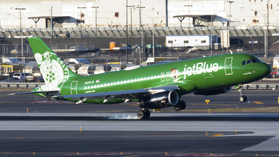 A picture of N595JB - Airbus A320232 - JetBlue Airways - © Mark Szemberski