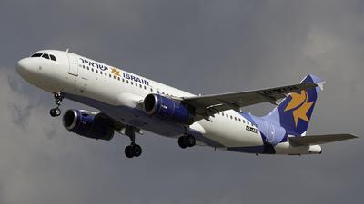 4X-ABS - Airbus A320-232 - Israir