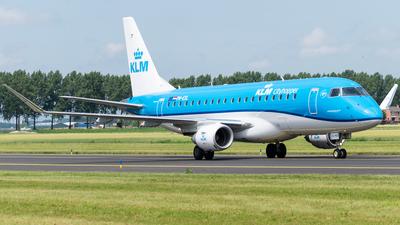A picture of PHEXL - Embraer E175STD - KLM - © Wessel van Alphen