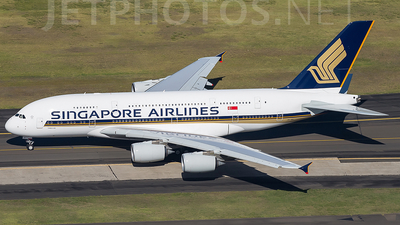 9V-SKI - Airbus A380-841 - Singapore Airlines