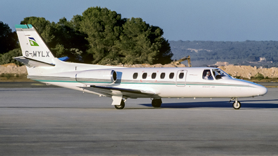 G-WYLX - Cessna 550 Citation II - Knight Air