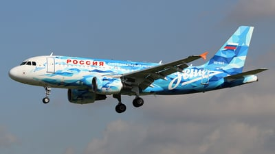 VQ-BAS - Airbus A319-111 - Rossiya Airlines