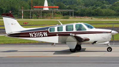 N3116W - Beech A36 - Private