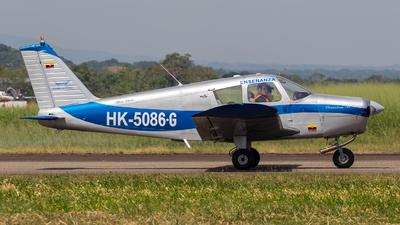 HK-5086-G - Piper PA-28-140 Cherokee - Falcon Academia de Aviación