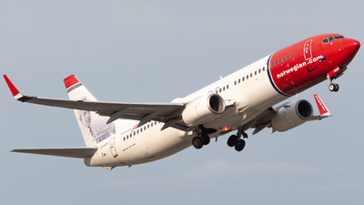 A picture of LNNGM - Boeing 7378JP - Norwegian - © Andre_S
