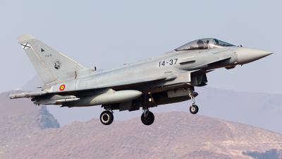 C.16-37 - Eurofighter Typhoon EF2000 - Spain - Air Force