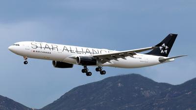 C-GEGP - Airbus A330-343 - Air Canada