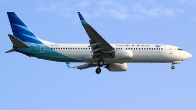 A picture of PKGFY - Boeing 73786N - Garuda Indonesia - © M. Raykahn Ariga
