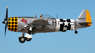 NX1345B - Republic P-47D Thunderbolt - Private