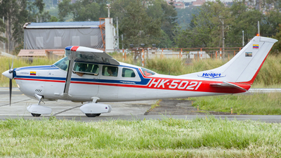 HK-5021 - Cessna TU206G Turbo Stationair - Helijet Colombia