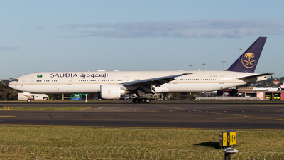 A picture of HZAK36 - Boeing 7773FG(ER) - Saudia - © Rory Delaney