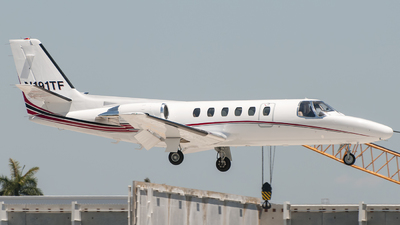 A picture of N191TF - Cessna 550 Citation II - [5500567] - © Mark Lawrence