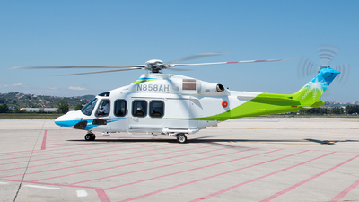 N858AH - Agusta-Westland AW-139 - Saudi Aramco Aviation