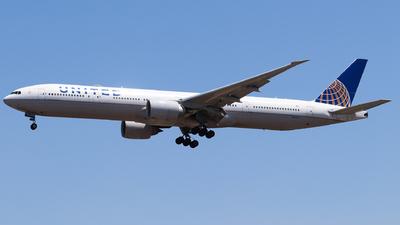 A picture of N2341U - Boeing 777322(ER) - United Airlines - © AGUIJUN-Lei