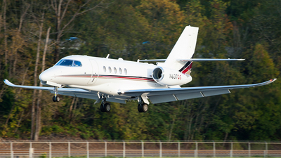 N637QS - Cessna Citation Latitude - NetJets Aviation