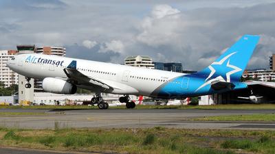 A picture of CGTSZ - Airbus A330243 - Air Transat - © Julio Letona