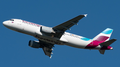 A picture of DABZE - Airbus A320216 - Eurowings - © Mike Dark Aviation