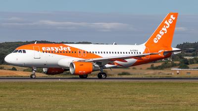 G-EZBJ - Airbus A319-111 - easyJet