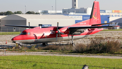 OE-ILW - Fokker F27-500F Friendship - Amerer Air