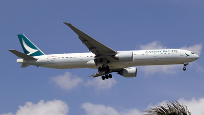 B-KPY - Boeing 777-367ER - Cathay Pacific Airways