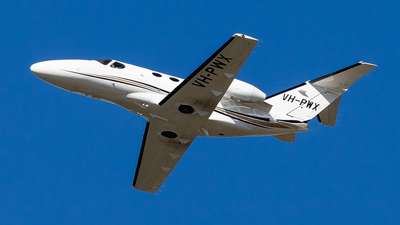 A picture of VHPWX - Cessna 510 Citation Mustang - [5100269] - © Brandon Giacomin