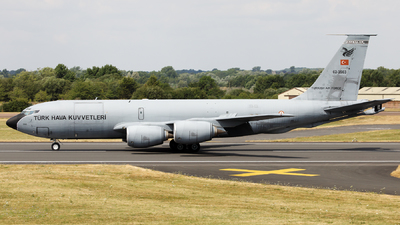 62-3563 - Boeing KC-135R Stratotanker - Turkey - Air Force