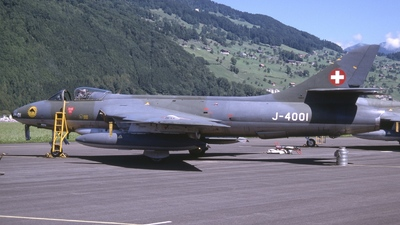J-4001 - Hawker Hunter F.58 - Switzerland - Air Force