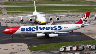 HB-JMD - Airbus A340-313X - Edelweiss Air