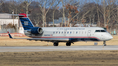 N447AW - Bombardier CRJ-200ER - US Airways Express (Air Wisconsin)